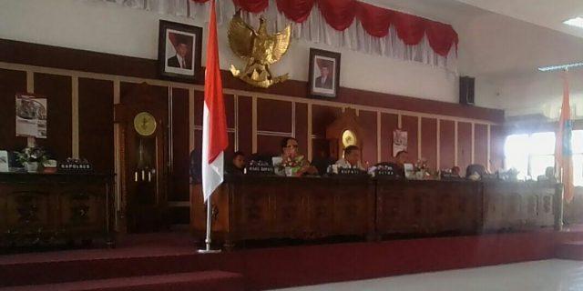 Bupati Labuhanbatu Sampaikan Nota Pengantar LKPJ TA 2017