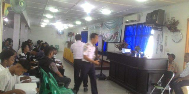 BP2IP Tangerang Bersama PSOP Tanjung Pinang Adakan Diklat BST,KLM dan SKK