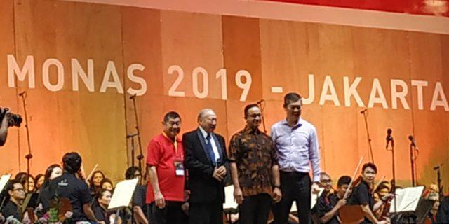Konser Jakarta Bersorak Dimeriahkan 160  Orang