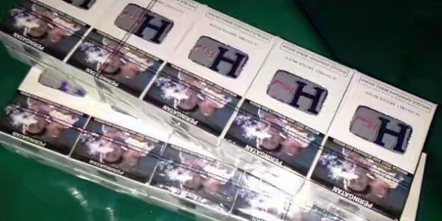 Koarmada I Gagalkan Penyeludupan 250 Kardus Rokok Ilegal di Kuala Enok,Riau