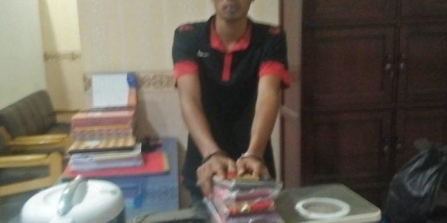 Mencuri di Rumah Tetangga, Ahmad Karim  Diringkus Petugas Unit Reskrim Polsekta Kotapinang
