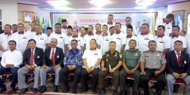 Bupati Rokan Hilir H. Suyatno Amp, Menghadiri Acara Pelantikan Pengurus Komite Olahraga Nasional Indonesia (KONI)