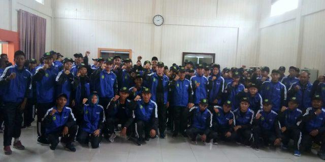 Lepas Atlit POPDA Provinsi Riau Ke-XIV Kepulauan Meranti 2018,Wabup Pesan Junjung Sportifitas dan Jaga Kekompakan