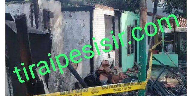 5 Unit Rumah Kontrakan Ludes Terbakar Di Wilayah Bintaro