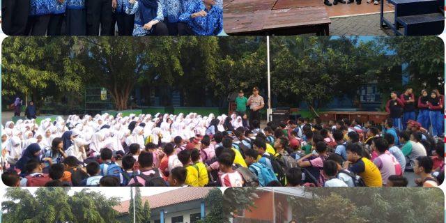 Kapolsek Ciledug,Kompol Supiyanto,SH Gelar Giat Cooling Sistem Sambang Di SMPN 3 Tangerang