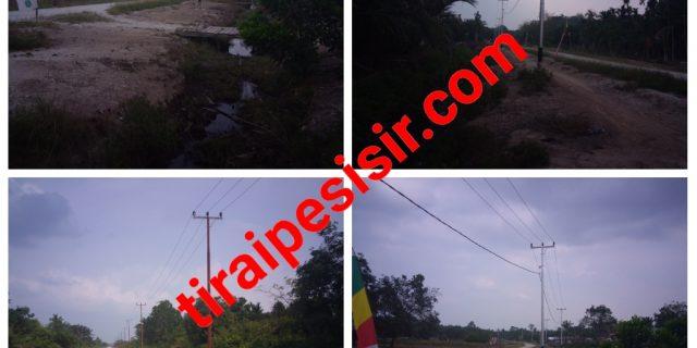 Proyek Pembangunan Instalasi Listrik PLN Tahun 2018 di Desa Putri Puyu Terbengkalai