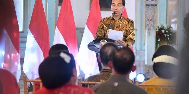 Hari Batik Nasional 2019, Presiden Jokowi : Jadikan Batik Duta Budaya Indonesia