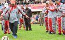 Bupati Amril Lakukan Tendangan Pertama,Tertanda Kompetisi Olahraga Tingkat Pelajar Resmi Dibuka
