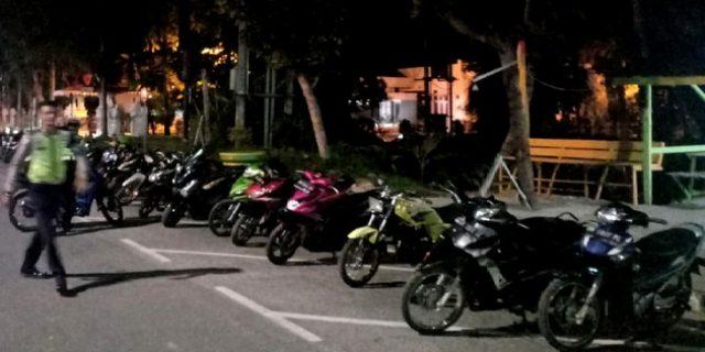 Balar Liar, 75 Remaja dan 59 Sepeda Motor Diamankan