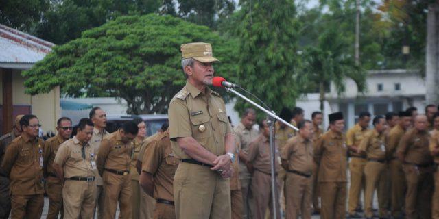 Said Hasyim Ingatkan Pegawai Jaga Prilaku Ditengah Masyarakat