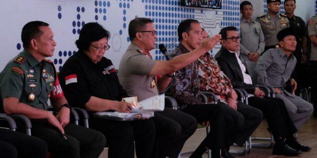 Presiden Jokowi Kagum Aplikasi Pencegahan Karhutla Polda Riau