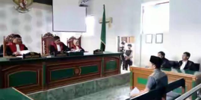 Ikuti Sidang Di PN Bengkalis, Eri Jack Dituntut Hukuman Mati
