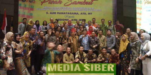 Malam Pisah Sambut BPTD Wilayah IV  Riau- Kepri, Ajie Panatagama Ucapkan Terimakasih