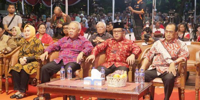Pagelaran Wayang Dengan Lakon Aji Nurontoko Dalam Rangka Tasyakuran Kemenangan Jokowi-Maruf Amin